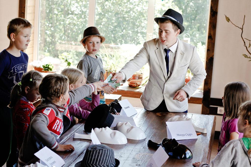 мафия на детский праздник